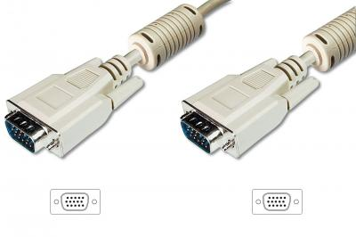 Digitus VGA Monitor connection cable, HD15