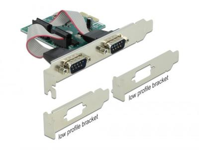 DeLock PCI Express Card to 2 x Serial RS-232