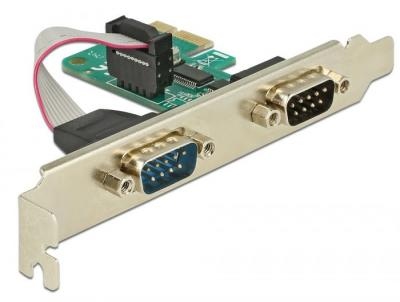 DeLock PCI Express Card to 2x Serial RS-232