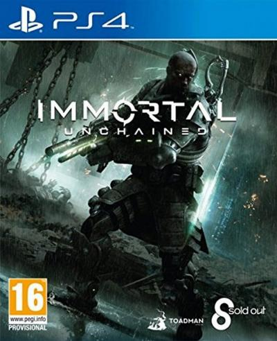 Toadman Interactive Immortal Unchained (PS4)
