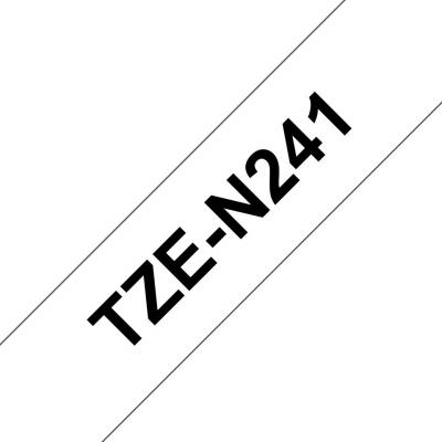 Brother TZe-N241 P-touch szalag (18mm)  Black on White - 8m