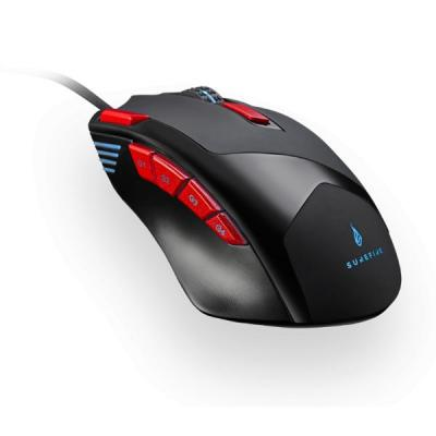 SUREFIRE Eagle Claw 9-Button RGB Gaming Mouse Black