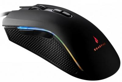 SUREFIRE Hawk Claw 7-Button RGB Gaming Mouse Black